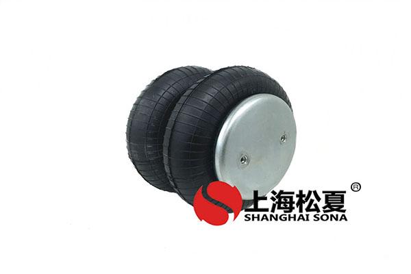 膜式橡胶测试工业空气弹簧进排气口